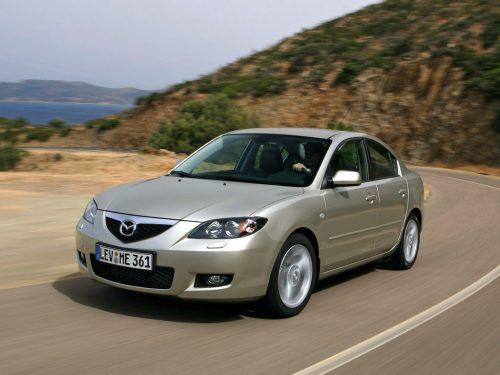 Mazda 3 I (BK) Рестайлинг