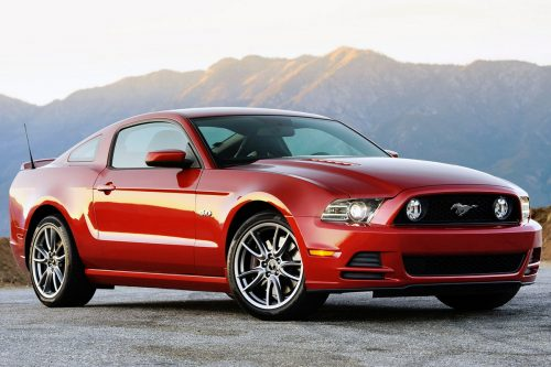 Ford Mustang V Рестайлинг