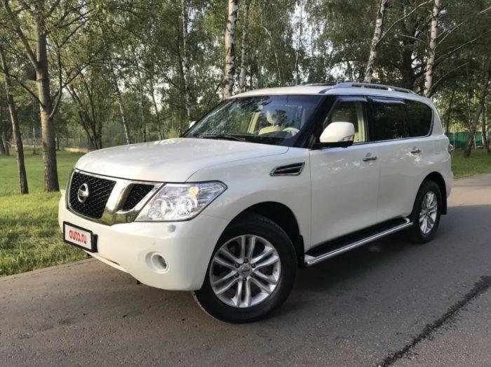 Nissan Patrol VI (Y62)