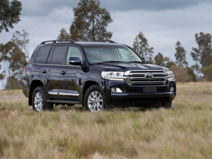 Toyota Land Cruiser 200 Series Рестайлинг